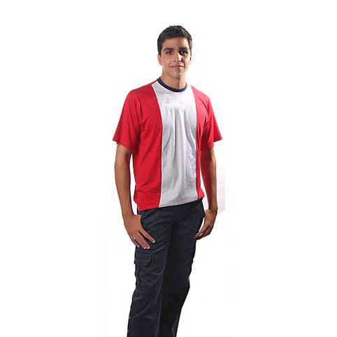 Camisa Gola Olímpica e Calça Bolso Lateral